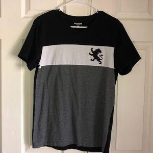 Men's Express Tri Color Lion Shirt